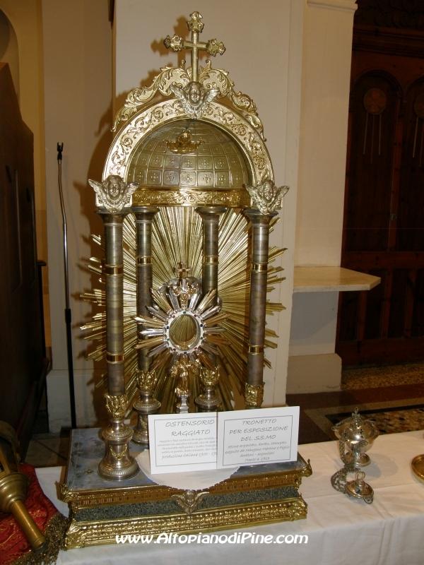 Mostra arredi sacri parrocchia santa maria assunta di for Arredi sacri