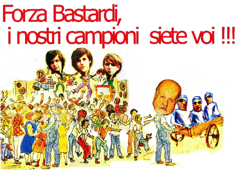 La vignetta dei Fans dei The Bastard Sons of Dionisio